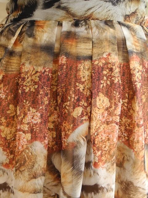 กระโปรงยาว ผ้าชีฟอง
